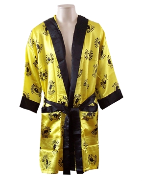 34ceacc80f Rocky Italian Stallion Logos Gold Boxing Ring Robe