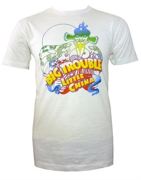 Big trouble in little china fu manchu white t shirt jack for Big trouble in little china jack burton shirt