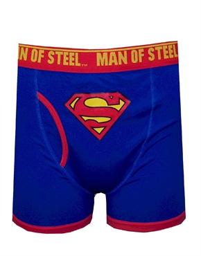 Superman Classic Logo Man Of Steel Boxer Briefs Dc Comics