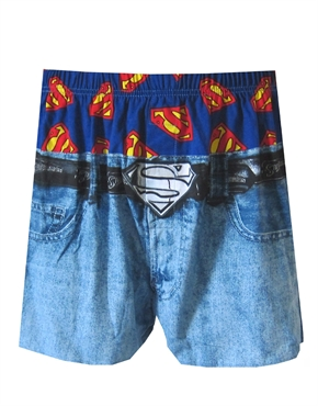Superman Underwear Mens Superman Underwear Pants On The