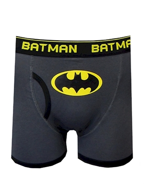 DC Comics 'Batman Superhero Underwear' Stripe Multipack Boxer Briefs Your little superhero will fight for justice and stay comfy and cozy in these vintage Batman boxer briefs. The underwear pack comes with 2 different Batman styles. more.