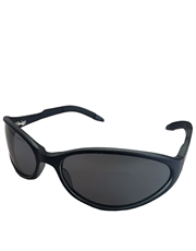 T3 Replica Sunglasses, Black Frame / Smoke Mirror Lens