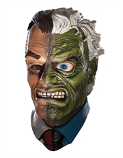 Two-Face Costume Accessory, Mens Batman Two-Face Harvey Dent Full Mask