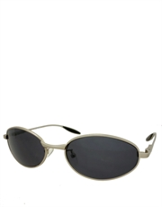 Eraser Style Oval Sunglasses