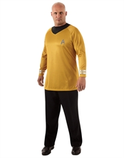 Star Trek Movie Costume, Mens Kirk Gold Costume Top, Style 2 Big