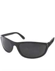 A.Ventura Carrey Style Sunglasses, Black Frame / Smoke Lens