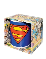 Superman Shield Mug