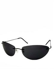 Neo Style Sunglasses, Rimless / Smoke Lens