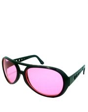 Elvis Sunglasses, Elvis Black Pink Style 6