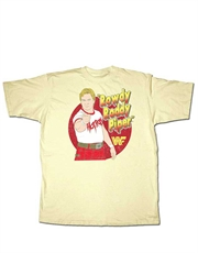 WWE T-Shirt, WWE Rowdy Roddy Piper Cream