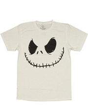 Nightmare Before Christmas T-Shirt, Nightmare Before Christmas Jack Skellington Smile White