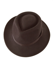 Indiana Jones Wool Felt Brown Fedora Child Hat
