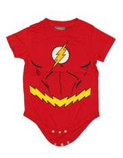 Flash Bodysuit, The Flash Costume Red Baby