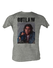Breakfast Club T-Shirt, Breakfast Club Outlaw Light Grey