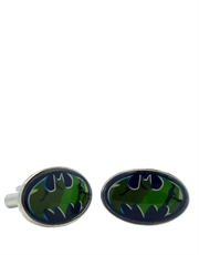 Batman Camo Shield Cufflinks