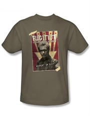 Commissioner Gordon T-Shirt, Dark Knight Rises T-Shirt, Comm Gordon Safari Green