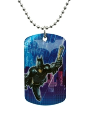 Batman Dark Knight Gotham Dog Tag Necklace