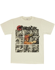 Thundercats T-Shirt, Thundercats Shadow Boxes White