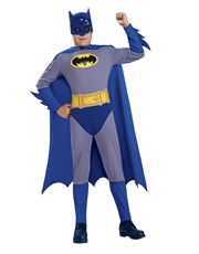 Batman Costume, Kids Batman Brave Bold Classic Costume