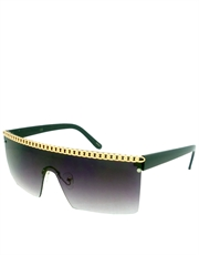 Gaga Sunglasses, Purple Gradient Style 3