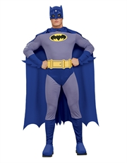 Batman Costume, Mens Batman Brave Bold Classic Costume