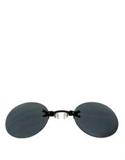 Morpheus Style Sunglasses, Rimless / Smoke Lens