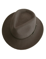 Western Cowboy Crushable Hat, Light Brown