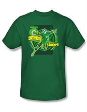 Green Lantern T-Shirt, Green Lantern With Ring Green