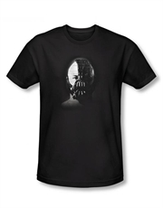 Bane T-Shirt, Bane Dark Knight Rises T-Shirt, Bane Face Mask Black
