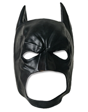 Dark Knight Costume Accessory, Mens Batman 3/4 Mask