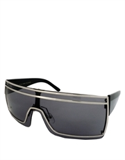 Gaga Sunglasses, Gaga Silver Smoke Style 1