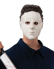 Halloween Mask, Mens Michael Myers 3/4 Vinyl Mask