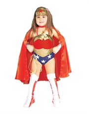 Wonder Woman Costume, Kids Wonder Woman Deluxe Costume