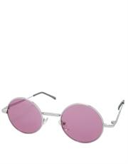 Teashade Sunglasses, Teashade Round Silver Light Pink Style 7