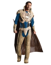 Man Of Steel Costume, Mens Superman Jor El Muscle Costume Style 1