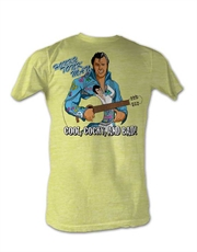WWE T-Shirt, WWE Honky Tonk Man Yellow