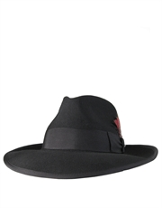 Zoot Wool Felt Hat, Black