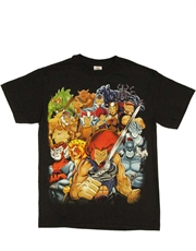 Thundercats T-Shirt, Thundercats Pose Black