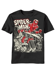 Spiderman T-Shirt, Spiderman Storm Creep Black