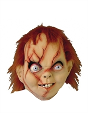 Chucky Costume Accessory, Mens Childs Play Chucky Full Mask
