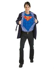 Superman Costume, Mens Superman Clark Kent Costume