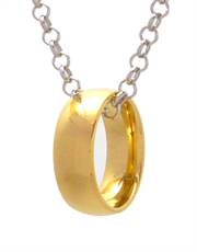 Hobbit Ring of Stealth Necklace