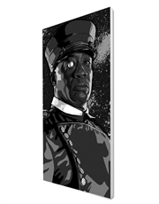 Manute, Black & White Canvas Art