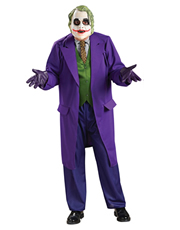 Dark Knight Costume, Mens Batman Joker Big Costume Style 2
