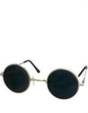 Teashade Sunglasses, Style 16, Silver Frame / Smoke Lens