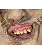 Texas Chainsaw Massacre Costume Accessory, Mens Leatherface Prosthetic Teeth