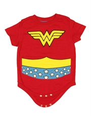 Wonder Woman Bodysuit, Wonder Woman Costume Red Baby