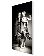 Astaire And Rogers, Canvas Art