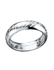Lord of the Rings Sterling Silver Ring Necklace