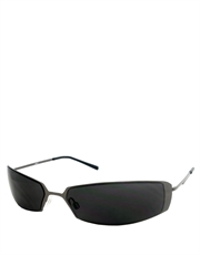 Twins Style Sunglasses, Gunmetal Frame / Smoke Lens